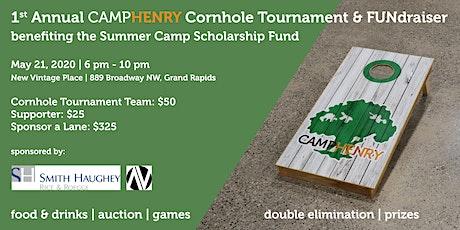 1st Annual Camp Henry Cornhole Tournament & FUNdraiser tickets