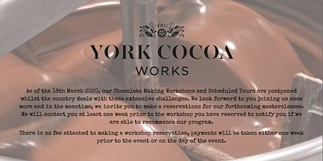 Chocolate Making Master Class Course - From Cocoa to Chocolate tickets