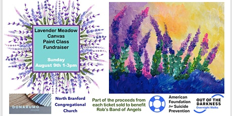 Lavender Meadow Canvas Paint Class Fundraiser tickets