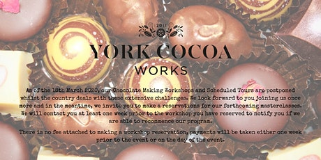 Chocolate Making Master Class Course - Chocolatiering Skills tickets