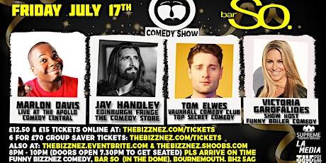Funny Bizznez Comedy, Bournemouth. tickets