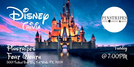 Disney Movie Trivia at Pinstripes Fort Worth tickets