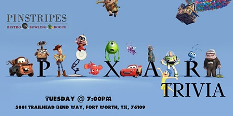 Disney Pixar Trivia at Pinstripes Fort Worth tickets