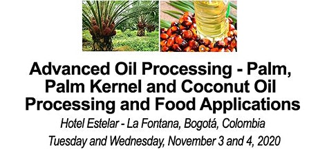 Advanced Palm, Palm Kernel and  CoconutOil Processing and Food Applications billets