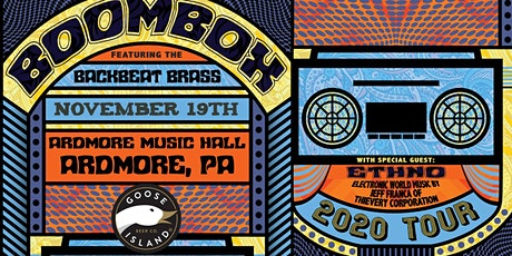 BoomBox ft. BackBeat Brass tickets