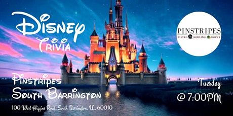 Disney Movie Trivia at Pinstripes South Barrington tickets