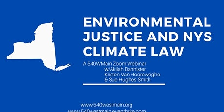 Webinar) Environmental Justice and NYS Climate Law tickets