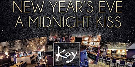 """A Midnight Kiss"" New Year's Eve at KOY Boston tickets"