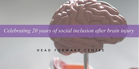 Celebrating 20 years of social inclusion after brain injury tickets