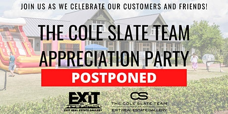 The Fifth Annual Cole Slate Team Appreciation Party tickets