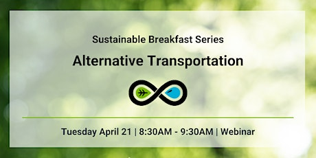 Sustainable Breakfast Series: Alternative Transportation tickets