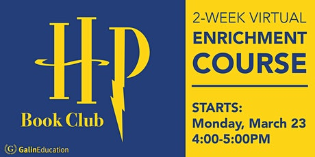 Harry Potter Book Club: 2-Week Virtual Enrichment Course tickets