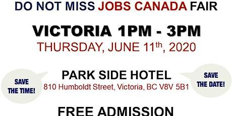 Victoria Job Fair –  June 11th, 2020 tickets