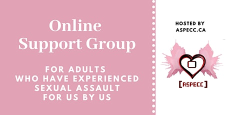 Online Support Group: Adult Survivors Sexual Assault tickets