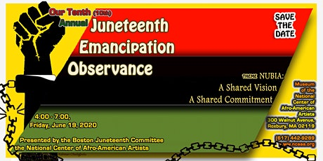 Boston's 10th Annual Juneteenth Emancipation Observance 2020 tickets