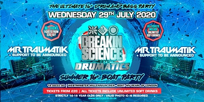 Breakin Science & Drumatics 16-18 Summer Boat Party