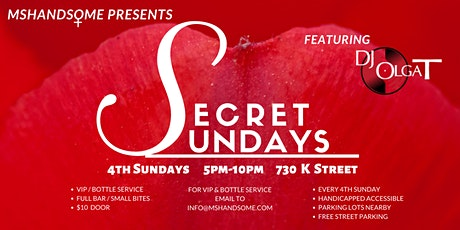 SECRET SUNDAYS tickets