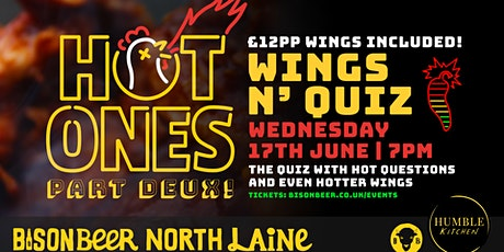 Hot Ones Quiz Part Deux tickets