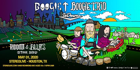 Boogie T and Boogie T.rio Riddim and Blues Tour - Stereo Live Houston tickets