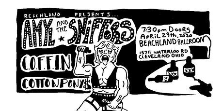 Amyl and the Sniffers • C.O.F.F.I.N • Cotton Ponys tickets