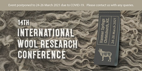 14th International Wool Research Conference 2021 tickets