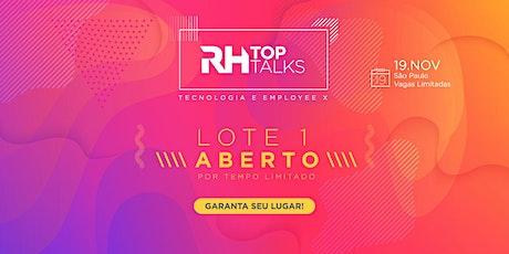 RH TopTalks - Tecnologia e Employee X ingressos