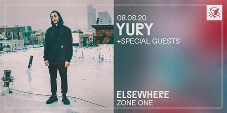 Yury @ Elsewhere (Zone One) tickets