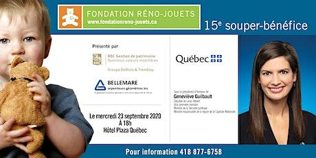 Souper Fondation Réno-Jouets billets