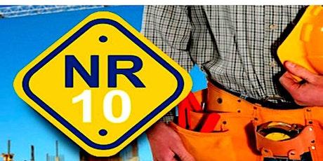 NR 10 - Instalações e Serviços em Eletricidade – Reciclagem ingressos