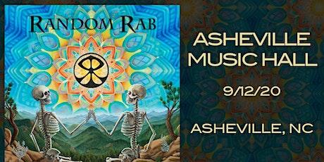 Random Rab | Asheville Music Hall tickets