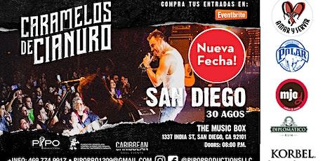 CARAMELOS DE CIANURO - SAN DIEGO CA boletos