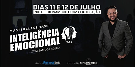 MASTERCLASS LEADER - Inteligência Emocional 7As ingressos