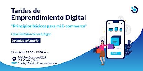 """Principios básicos para mi E-commerce"" boletos"