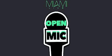 Miami LIVE Open Mic 6/12/20 - DJ Killa K tickets