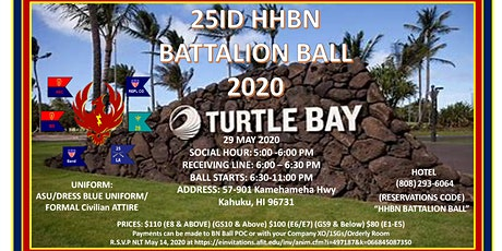 HHBN Battalion Ball tickets