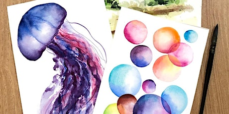 Intro to Watercolor Workshop tickets