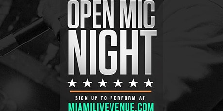 Miami LIVE Open Mic 8/29/20 - DJ Killa K tickets