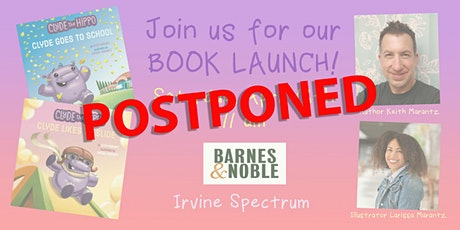 Clyde The Hippo Picture Book Launch Event- postponed tickets