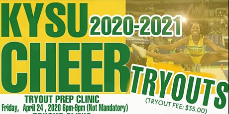 Kentucky State University Cheerleading Tryouts (Waived) tickets