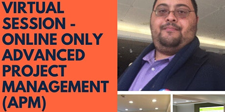Virtual Session -  Advanced Project Management Certification tickets
