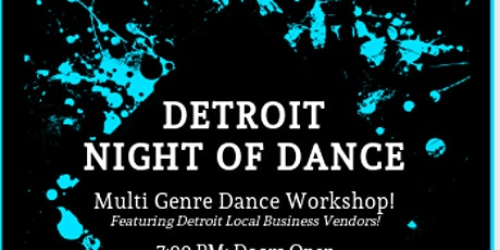 Detroit Night of Dance tickets
