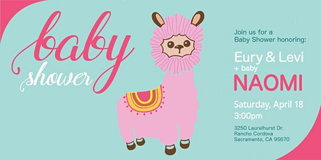 Naomi's Baby Shower (Eury & Levi) **Rescheduled to April 18** tickets