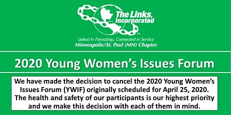 2020 Young Women's Issues Forum- CANCELLED tickets