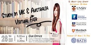 Study in UK & Australia Virtual Fair
