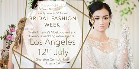 BRIDAL FASHION WEEK LOS ANGELES 2020 tickets
