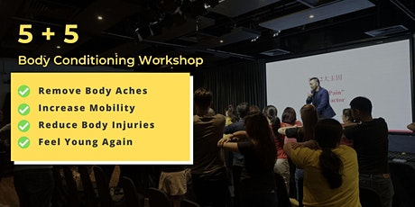 5+5 Body Conditioning Workshop (APRIL 2020) tickets
