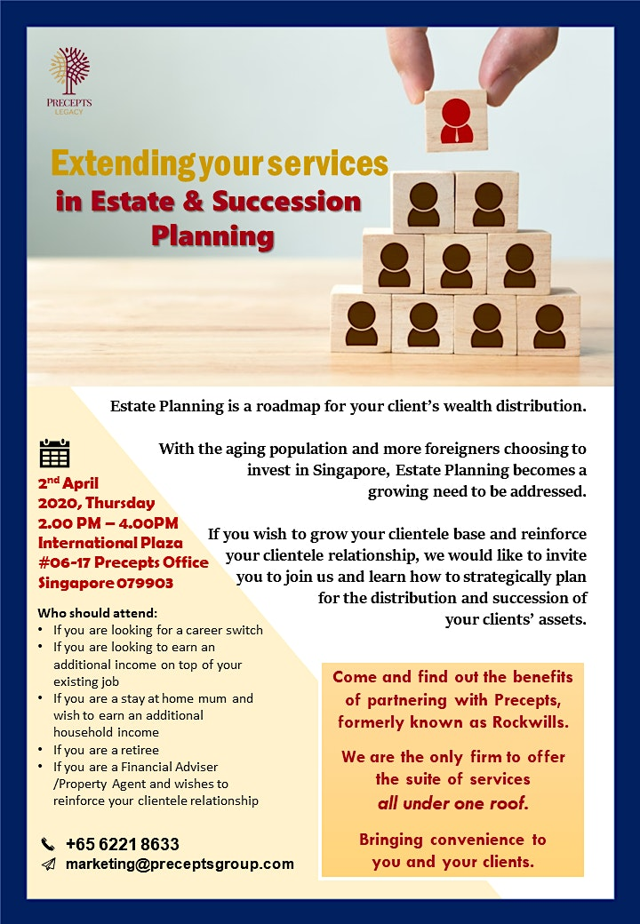 Extending your services in Estate & Succession Planning image