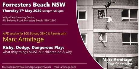 Risky Dodgy Dangerous Play at Forresters Beach NSW tickets