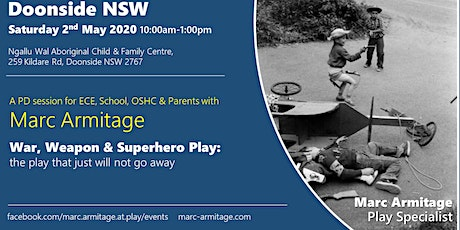 War, Weapon & Superhero Play at Doonside NSW tickets