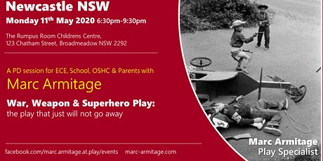 War, Weapon & Superhero Play at Newcastle NSW tickets